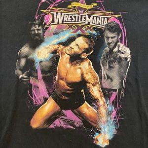 Wrestlemania XXX 2014 WWE Men's Wrestling T Shirt